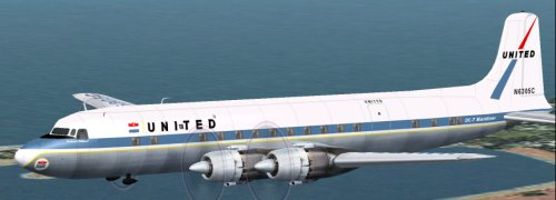 United Air Lines DC-7