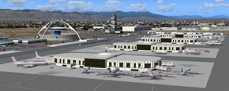 Classic Scenery - California airports